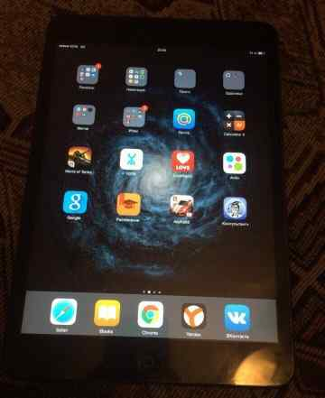 Apple iPad mini 64gb Black wi-fi + cellular
