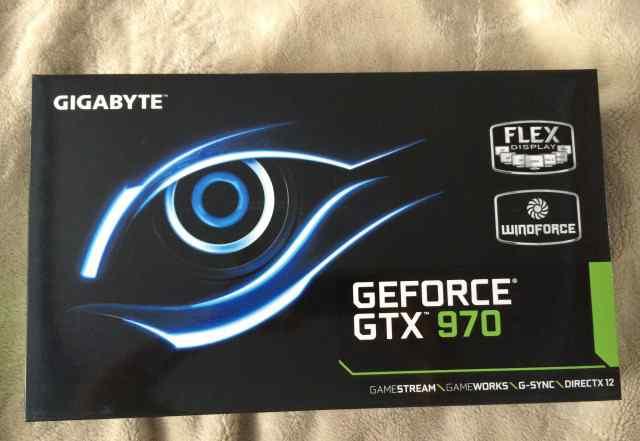 GTX 970 gigabyte 4096MB
