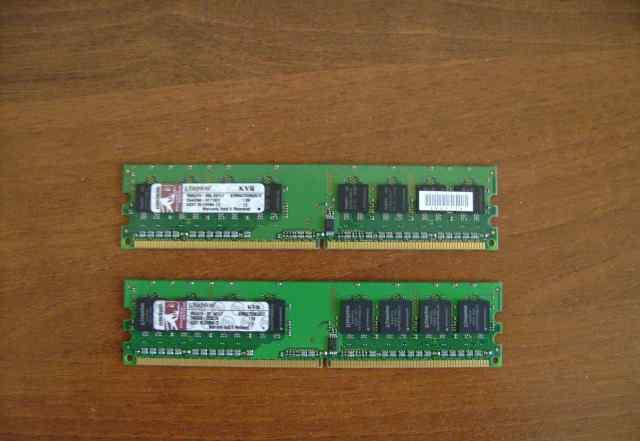 Оперативная память DDR2 KVR667D2N5/512