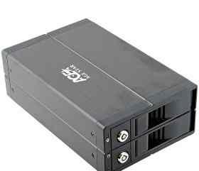 Внешний бокс для 2х3.5HDD USB2.0 AgeStar S2B3J