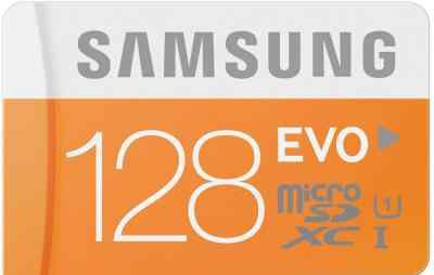 Карта памяти Samsung MicroSD 128Gb Class10