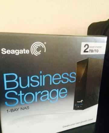 Новый Seagate Business Storage 1-Bay NAS 2TB HDD