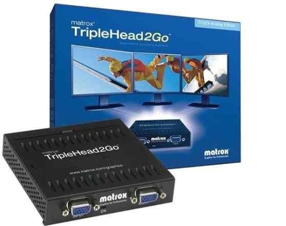 Matrox TripleHead2Go, T2G-A3A-EUF, Analog Edition