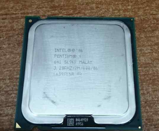 CPU Intel Pentium 4 641 3.20GHz/2M/800/06 S775