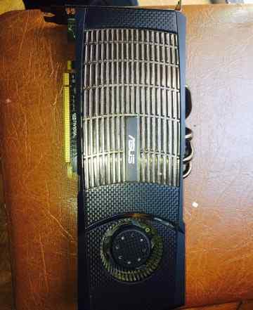 Мощный Asus GeForce GTX 480 356bit