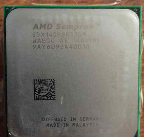 AMD sempron 145 (SDX145H) 2.8 Гц