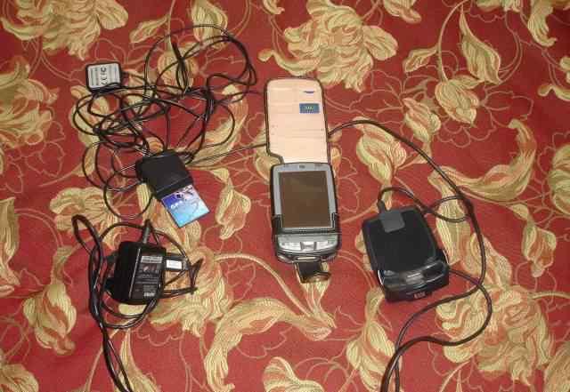 HP ipaq 2410 + GPS модуль