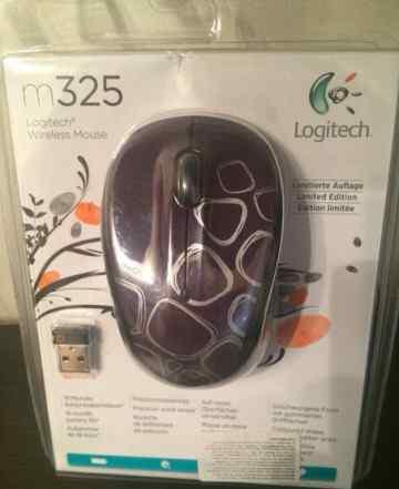 Logitech m325 новая в упаковке темно-фиолетовая