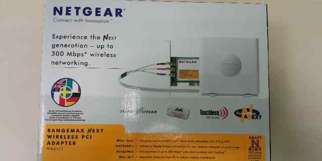 Wi-Fi-адаптер netgear WN311T (WiFi подключение пк)