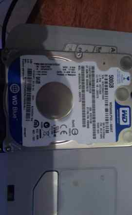 HDD SATA 500gb wd5000lpvx 2.5