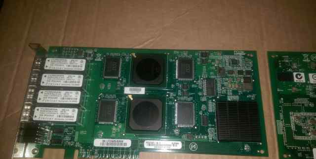 Qlogic QLE2464 четырехпортовый Fiberchannel 4Gbit
