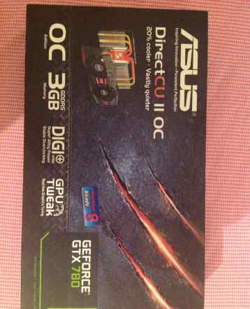 Nvidia GTX 780 asus DC2 OC