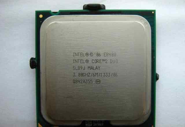 Процессор Intel Core 2 Duo / E8400