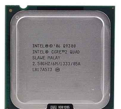Inel core 2 quad Q9300 2.50GHZ