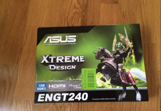 Видеокарта asus nvidia GeForce GT 240