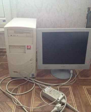 Системный блок, компьютер P4