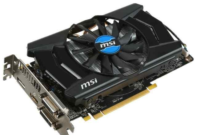 Видеокарта MSI R7 265 OC, 2gb-gddr, 2DVI, hdmi, 25