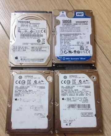 Жесткие диски 2.5 для ноутбука 500 GB/SATA
