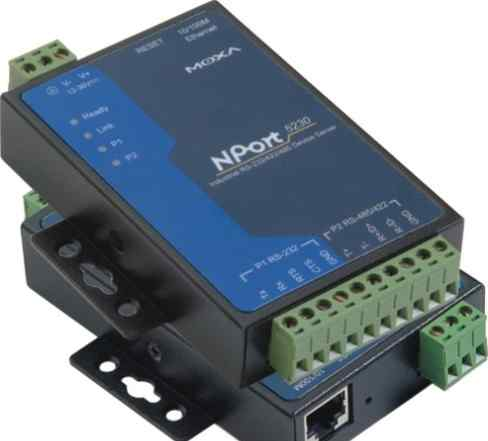 Сервер NPort 5232i moxa, комплект, б/у