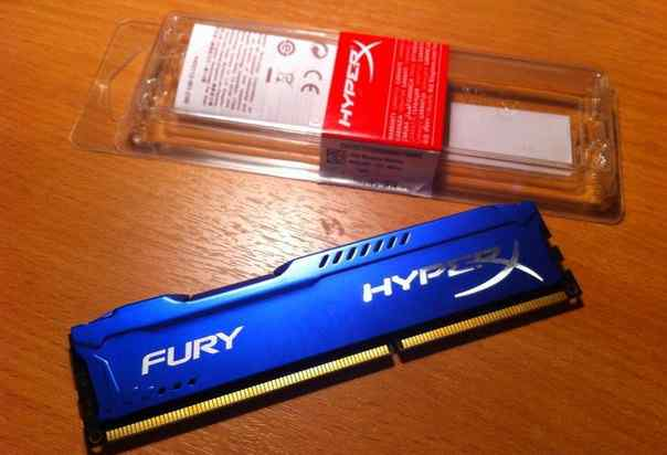 Kingston Fury HyperX 4GB 1600 Mhz