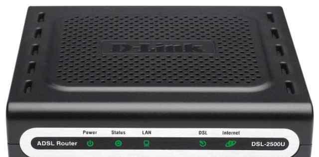 Adsl-модема D-Link DSL-2500U