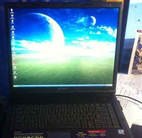 ноутбук sony vaio GRX560