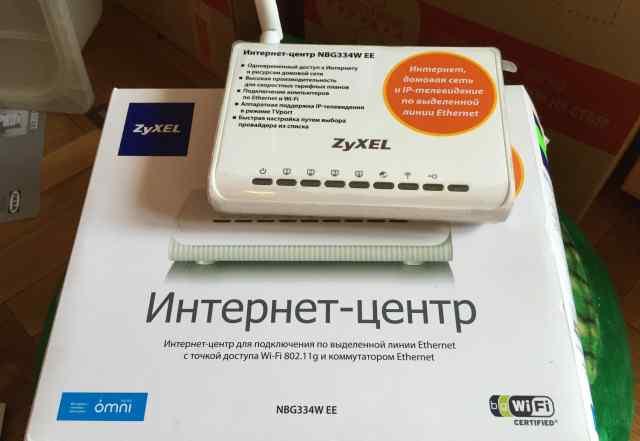 Роутер Wi-Fi Zyxel NBG334W EE