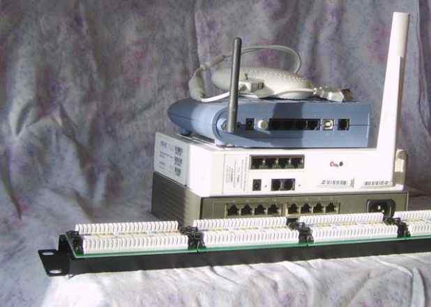 Патч-панель, Патч-корды, (Йота, WiFi роутер обмен)