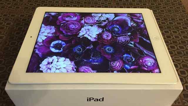iPad 4 Wifi Cellular 128GB White