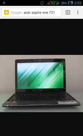 Acer aspire one 721 160гб