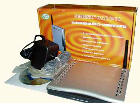 Wi-Fi adsl точка доступа orient WAR 25 TC
