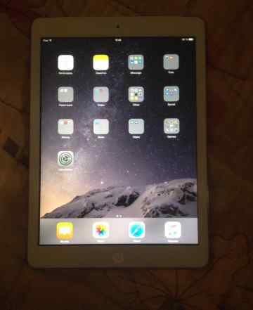 Aррlе iPad Air 64gb wi-fi Cellular белый