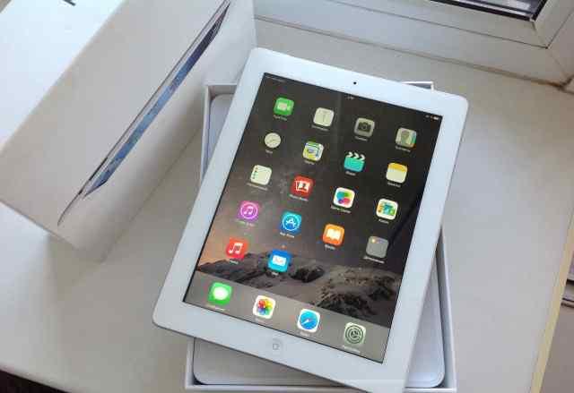 iPad 3 32gb Wi-Fi 4g Беленький