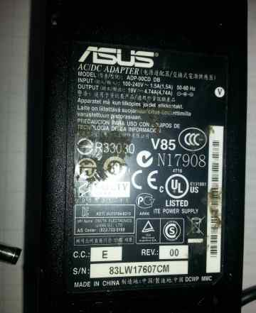 Asus - блок питания 19V 4.74A
