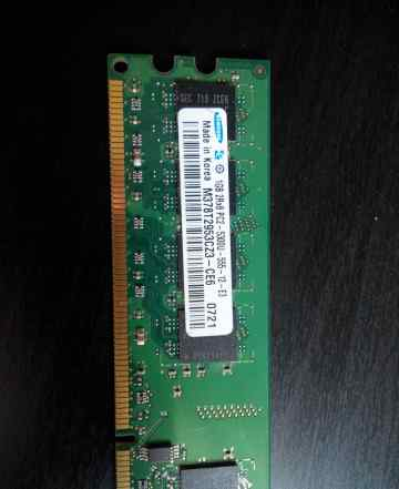 Память DDR2 samsung PC5300