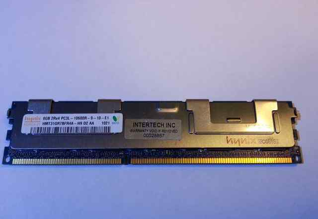 Память Hynix 8GB 2Rx4 PC3L-10600R-9-10-E1