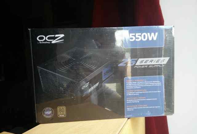 Блок питания OCZ OCZ-ZS550W - новый, запечатанный