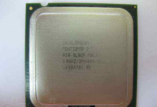 Intel Pentium D 820 2 ядра LGA775 2.8ghz /2M /800