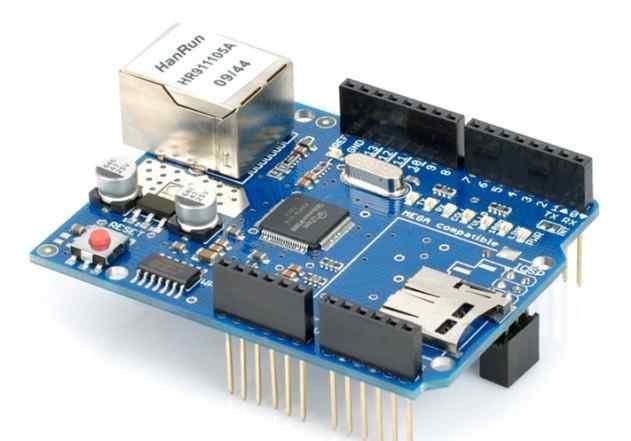 Сетевая плата с microSD для Arduino(Mega, UNO и др