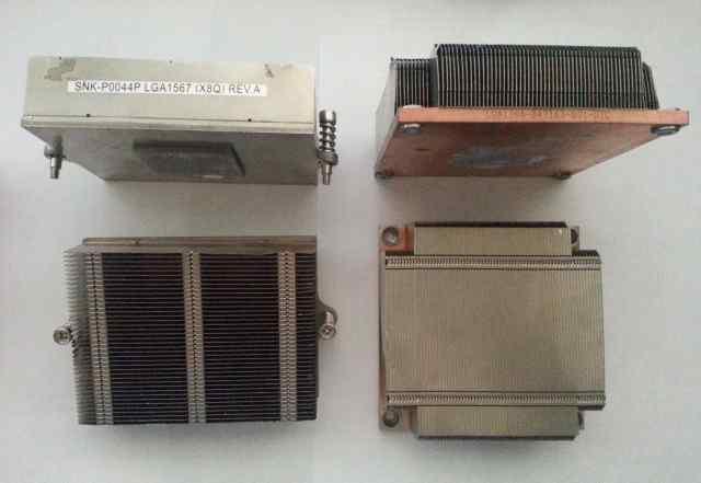 радиаторы Supermicro lga1366 lga1567