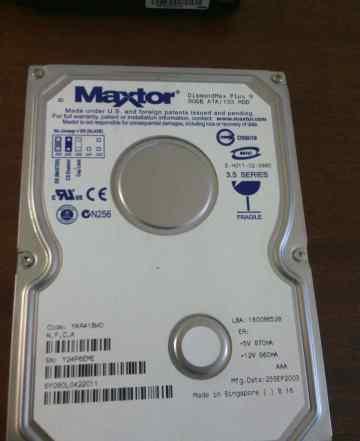 80Gb Maxtor очень живой IDE