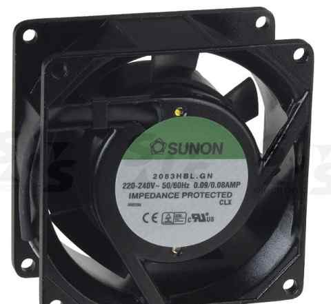 Вентилятор SF23080A/2083HSL. GN