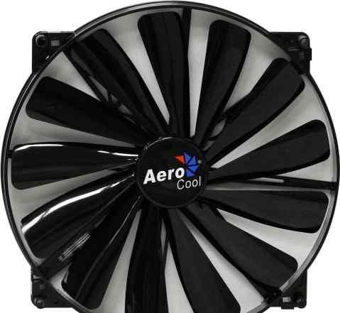 Aerocool Dark Force 20см Black без подсветки