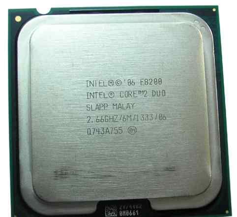 Intel core 2 quad e8200