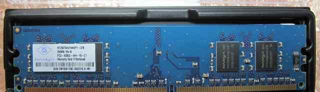 ECC PC2-4200U-44-12-C1 256Mb