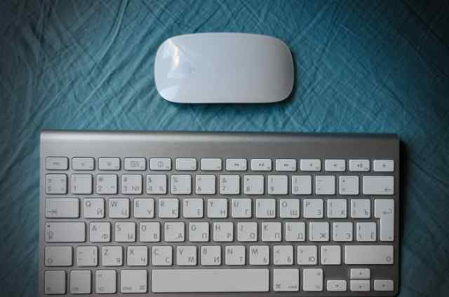 Комплект Apple Magic Mouse + Apple Wireless Keyboa