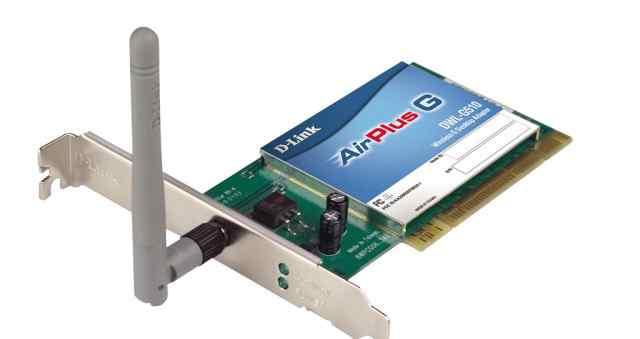 Сетевой адаптер D-Link DWL-G510