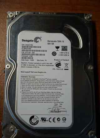 Внутренний жесткий диск Seagate ST3500413AS 500 Гб