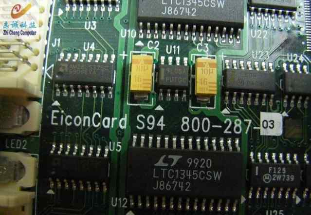 Eicon S94 800-287, EiconCard 800-287, 2 порта vhsi