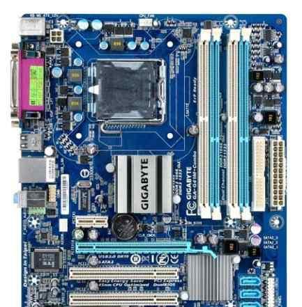 Новая gigabyte GA-G41M-Combo(rev.2) Socket LGA775
